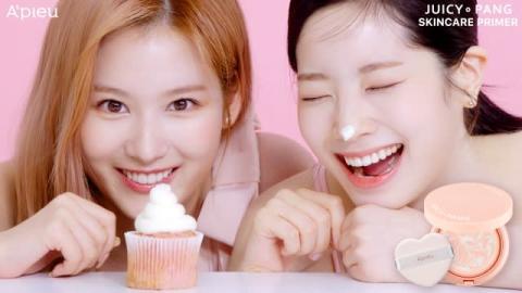 TWICEサナ&ダヒョンが顔を寄せ合って照れ!? 美と笑顔が弾けるWEB動画公開