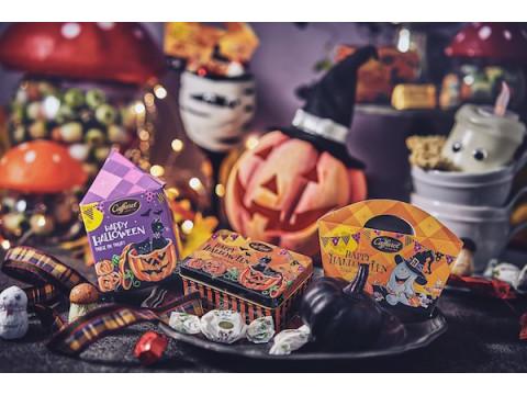 黒猫やかぼちゃの限定缶が登場!「カファレル ハロウィンコレクション2021」発売