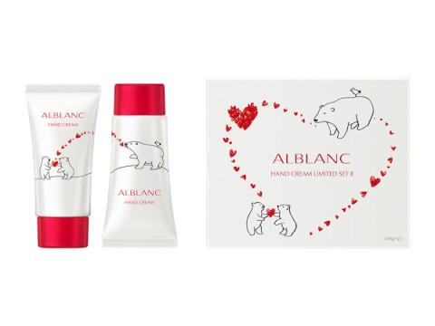 """ALBLANCから温もりある""""繋がり""""を表現した限定デザインのハンドクリームセットが登場"""
