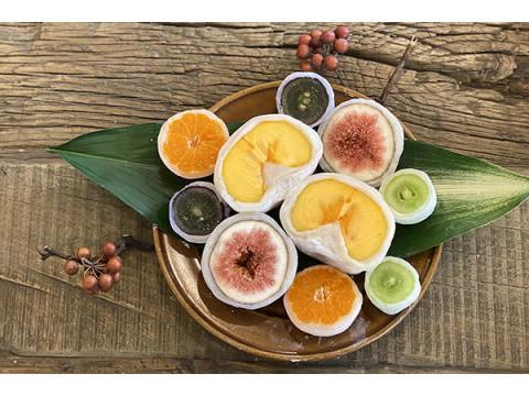 そのとき一番おいしい果物を味わう!菓匠よしふじの「旬のフルーツ大福」新作が登場