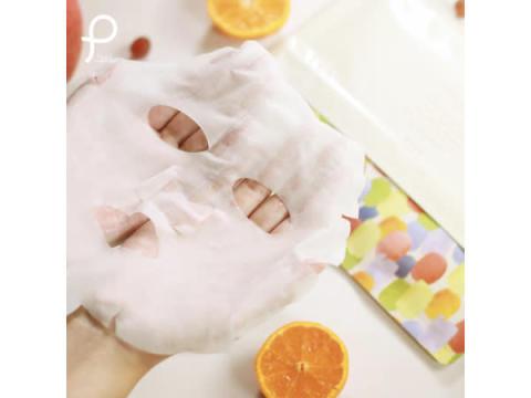 「プリュ(PLuS beauty energy)」の限定シートマスク『フルーツミックス』の香りが登場