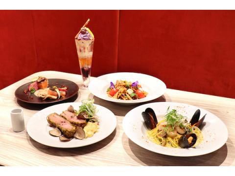「ボンボヌール」に、旬の素材を使用した新作フードメニュー&贅沢パフェが登場!
