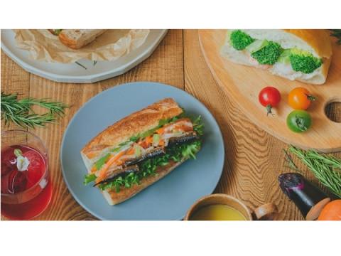 メゾンカイザー×ミツカンが共同開発したピクルスサンドをJR京都伊勢丹で販売!