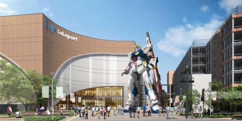 実物大ガンダム立像、来春オープンのららぽーと福岡に設置 新スポット「ガンダムパーク福岡」も計画