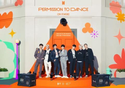 BTS、1年ぶりオンラインコンサート10・24開催決定『BTS PERMISSION TO DANCE ON STAGE』