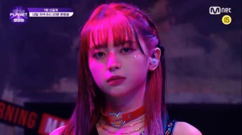 "【Girls Planet】NiziU MAKOの""先輩""坂本舞白、一緒にデビューを目指したITZY曲に挑戦"