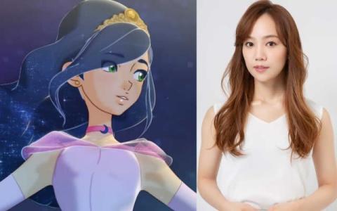 咲妃みゆ、アニメーション作品初参加 月夜のプリンセス役で美声を披露