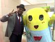 クリス・ハート、47都道府県ご当地キャラ共演ツアー 千葉公演はふなっしー
