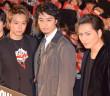 TAKAHIRO&斎藤工&登坂広臣、兄弟愛が爆発 公開イチャイチャに黄色い歓声