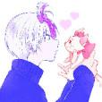 Mimika→嵐,ガルパ垢さんの顔写真