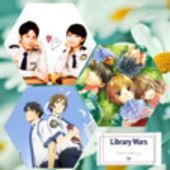 図書館戦争ファン(*´˘`*)♡