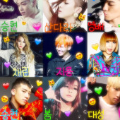 2NE1好きな人ー集まれー!BIGBANG好きな人もー♪♪(●^∀^●)♪♪