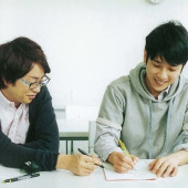 塾の先生(櫻宮)と私