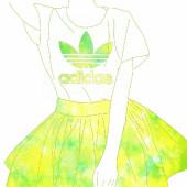 adidasっぽい女の子(本家)