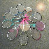 中2のソフトテニス部はなしましょー