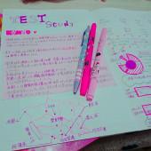 studyのノートをおしゃれにしちゃお!