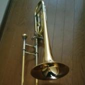 吹奏楽部のトロンボーン