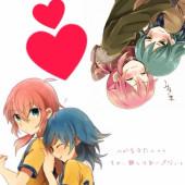 アニメキャラと恋愛