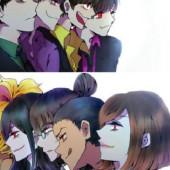 マフィア松VSマフィアgirl