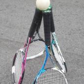 中1女子ソフトテニス部集まれー