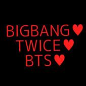 BTSとかBIGBANGとかTWICEのぺん!