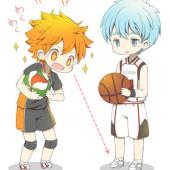 ハイキュー&黒子のバスケ好きな人おしゃべりしましょう。