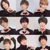 Hey! Say! JUMP(*´˘` )❤LOVE❤(´˘`*)