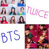 TWICE、BTSの画像加工します!