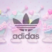 adidasロゴ募集〜💕