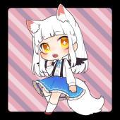 謎の狐さんと捨て化け猫と人間達の物語