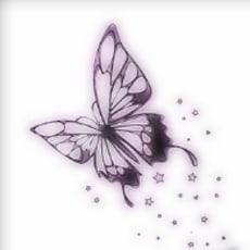 黒蝶のアイコン画像