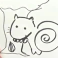鷲尾ちゃんのリスのアイコン画像