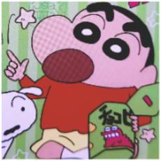 しんちゃん&メルのアイコン画像