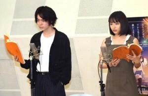 広瀬すず&菅田将暉、公開アフレコに緊張しきり「手汗がすごい」