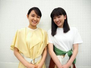 """葵わかな&永野芽郁、朝ドラヒロイン""""バトンタッチ""""対談"""