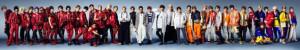 "GENERATIONSら4組38人""Jr.EXILE""、アルバム&幕張ライブ4days決定"
