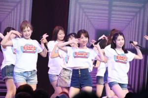 AKB48チームB、過去一の汗でコンタクトくもくも!? 大家志津香「はしゃぎすぎた」