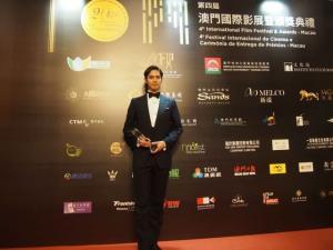 片寄涼太『マカオ国際映画祭』で流ちょうな英語を披露「アジアと日本の架け橋に」