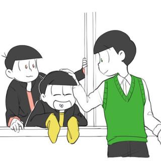 松先生と生徒  〆