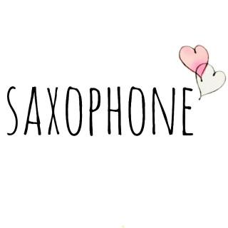 吹奏楽部でサックス  saxophone