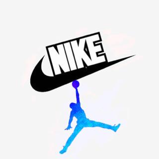 NIKE・Facebookのロゴで名前入り作ります