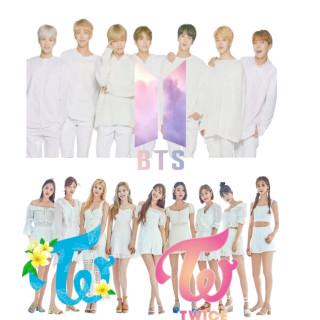 TWICE&BTSの壁紙・アイコン作ります🍭💣