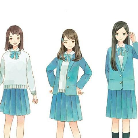 女子校生集合!!女子高生ではなく、女子校生!笑