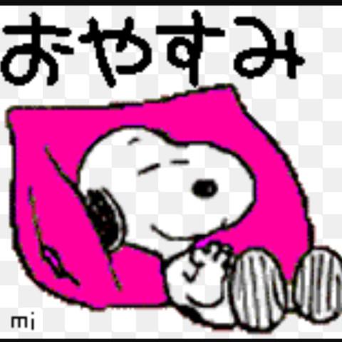おやすみ!!