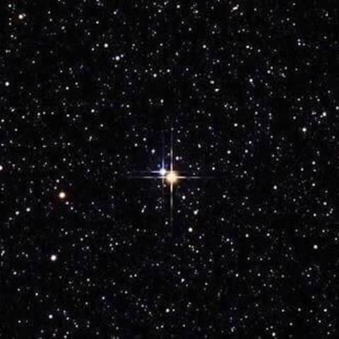キラキラ輝いている星の夢