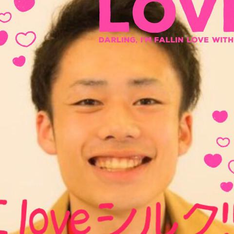 I love シルク(*¯︶¯♥)