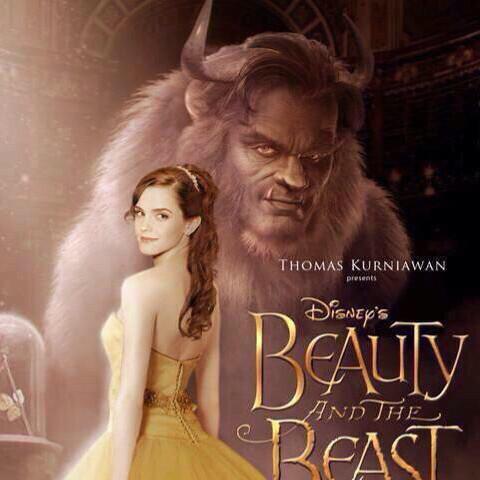 美女と野獣 映画見る人