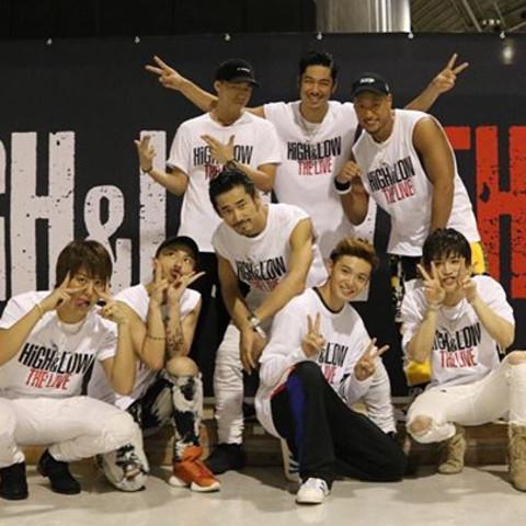 9.8 HiGH&LOW ライブ参戦者!!