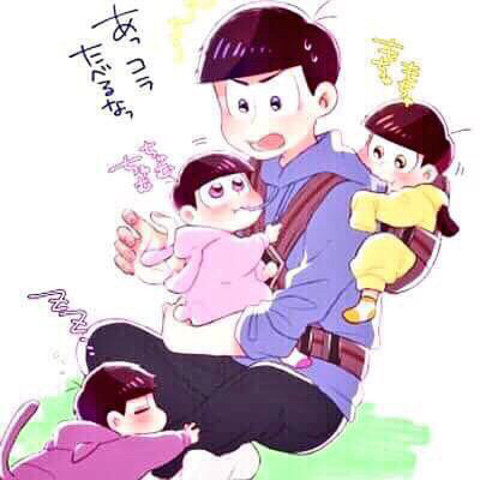 カラ松と5人の幼児松