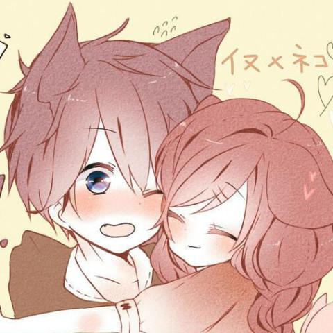 犬系女子×猫系男子